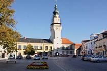 Výraznou dominantou Boskovic je také radnice ze 16. století.