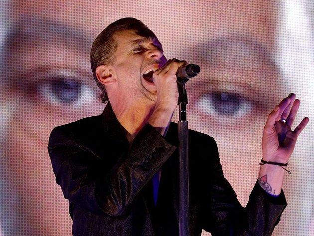 Britská skupina Depeche Mode vystoupila 14. ledna v pražské O2 Areně.