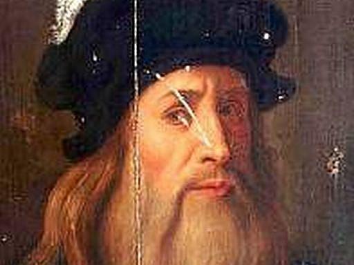 Dosud neznámý obraz patrně od Leonarda Da Vinci  z majetku templářů