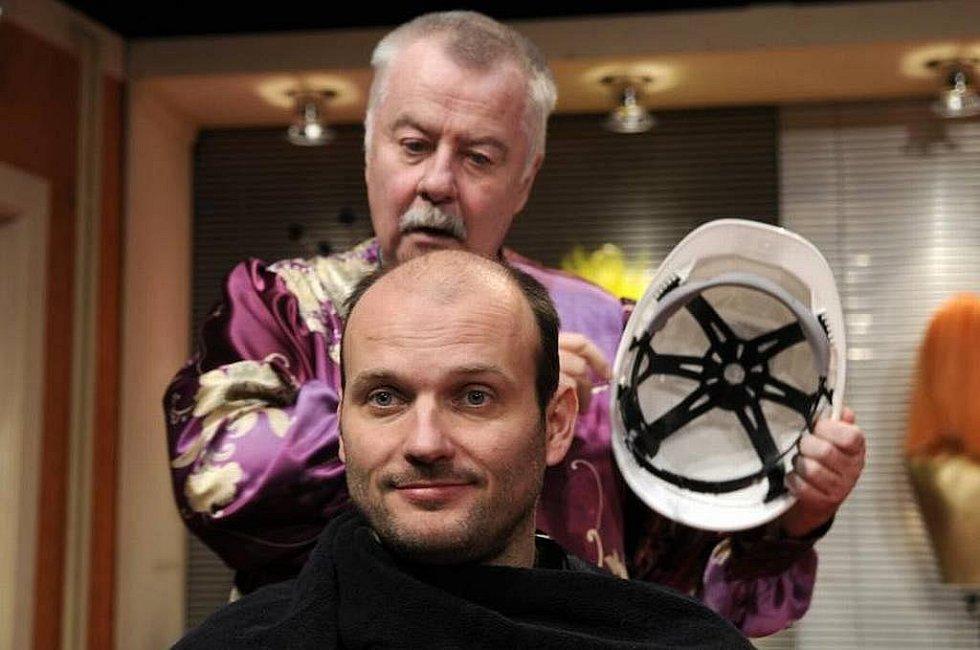 Úspěšná komedie Divadla Kalich Splašené nůžky