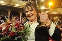 Herečka Jiřina Bohdalová byla uvedena do Dvorany slávy 2. dubna v pražském Divadle na Vinohradech při vyhlášení 20. ročníku televizních cen popularity TýTý 2010.