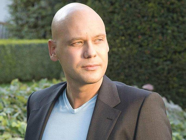 Klavírista Michal Mašek