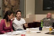 Čtená zkouška hry Tajemné rozcestí v Divadle ABC