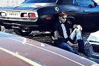 STYLOVĚ. Martin Chodúr nafotil obrázky ke svému debutu přímo v Las Vegas.