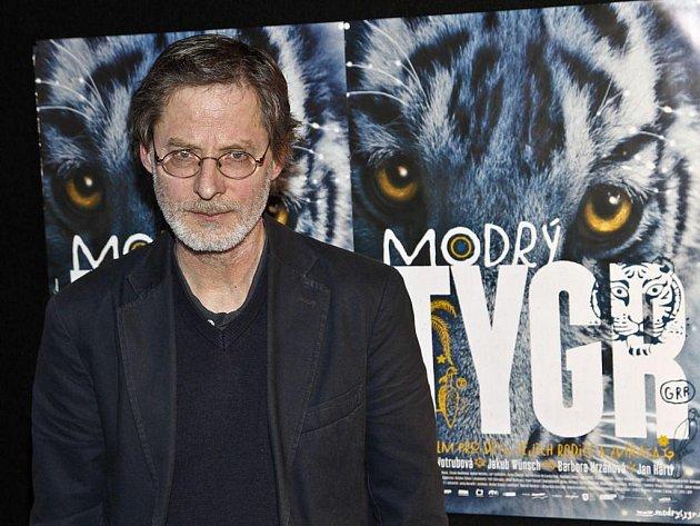 PAN KYTKA. Modrý tygr je o snech a fantazii. To byl jeden z hlavních důvodů, proč jsem měl chuť do tohohle filmu, říká Jan Hartl.