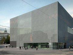 Takto by mohla vypadat nová budova Západočeské galerie