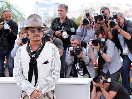 MFF v Cannes 2011: Johnny Depp představil už čtvrté Piráty z Karibiku