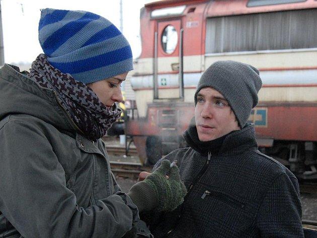 Vladimír Polívka ve filmu Poupata