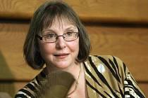 Spisovatelka Donna W. Cross v Brně