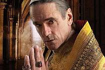 Jeremy Irons získal v seriálu roli Rodriga Borgii, otce nechvalně proslulé Lukrécie
