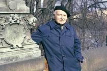 Elmar Klos na snímku z roku 1980 v Praze