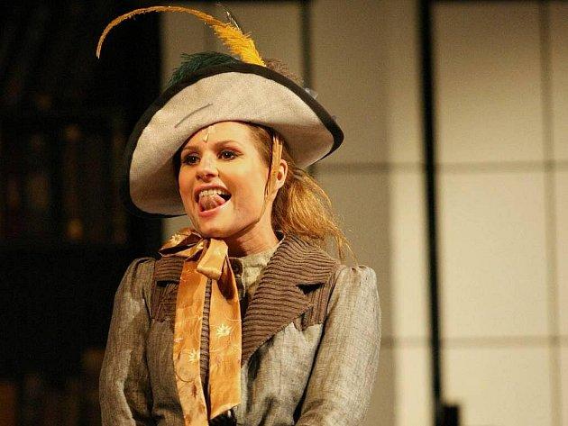 Jolana Smyčková jako Líza Doolitllová v muzikálu My Fair Lady