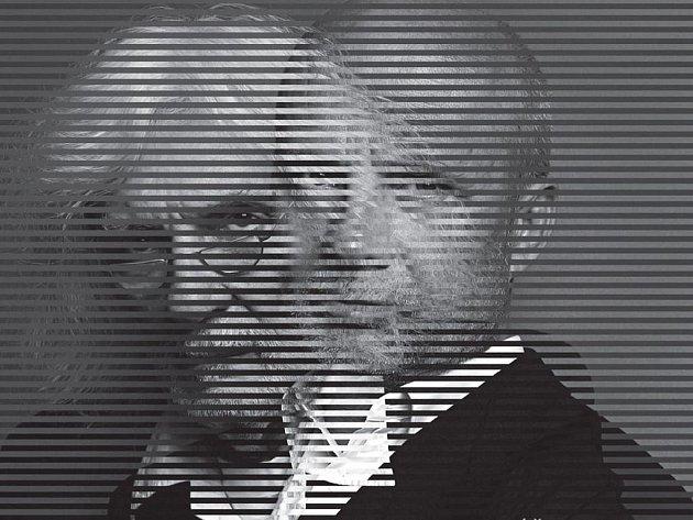 Dva hlavní protagonisté na obalu CD Benefice černých koní