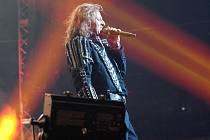 Kabáti jsou na turné, na snímku frontman Josef Vojtek