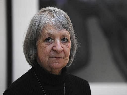 Anna Fárová na snímku z roku 2008