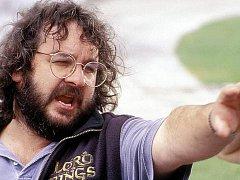 Režisér Peter Jackson při natáčení trilogie Pána prstenů na Novém Zélandu. Snímek je ze závěrečné části Návrat krále