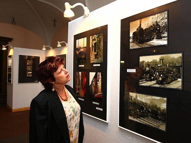 Mázhaus plzeňské radnice slouží k fotografickým výstavám velmi často