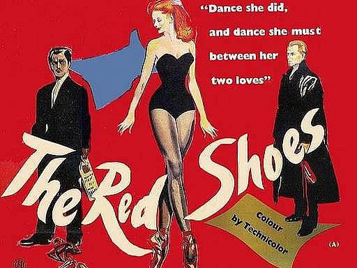 Plakát k filmu Červené střevíčky