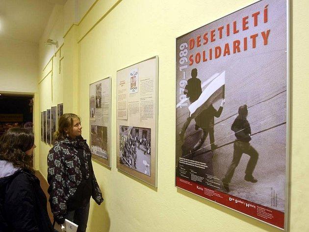 Výstava Dekáda Solidarity v Ostravě, v rámci přehlídky Polské dny