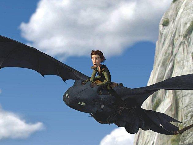 Nový animovaný příběh studia Dreamworks Jak vycvičit draka