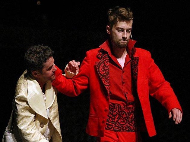 Herci Městského divadla Zlín ve středu 22. června zkoušeli nový muzikál Juan.