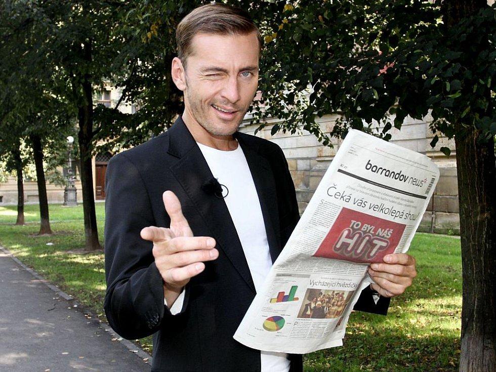 Moderátor Petr Vondráček
