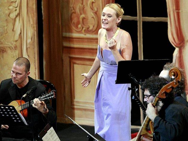 SLAVNÁ MEZZOSPORANISTKA Magdalena Kožená se vloni po dvanácti letech vrátila na prestižní festival Smetanova Litomyšl.
