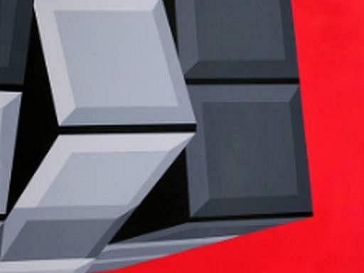 Současná slovenská geometrie 1, tak se jmenuje aktuální výstava v plzeňské galerii