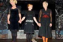 Vše o mé matce - premiéra v Divadle ABC: zleva Vladimír Marek, Dana Batulková, Dana Syslová