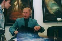 Malíř Zdeněk Hajný