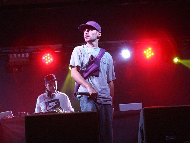 Rapper LA4 na koncertě