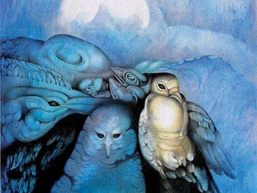 Lunární kalendář Krásné paní vždy ilustrují význační umělci, v tomto případě v roce 2006 Iveta Sarvašová