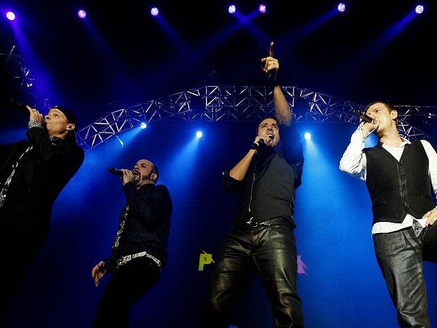 Backstreet Boys vystoupili 30. 11. v Praze