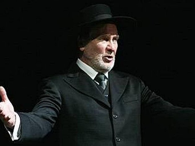 Jiří Štěpnička jako Shylock v Kupci benátském