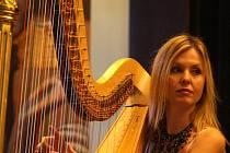 Harfenistka Kateřina Englichová