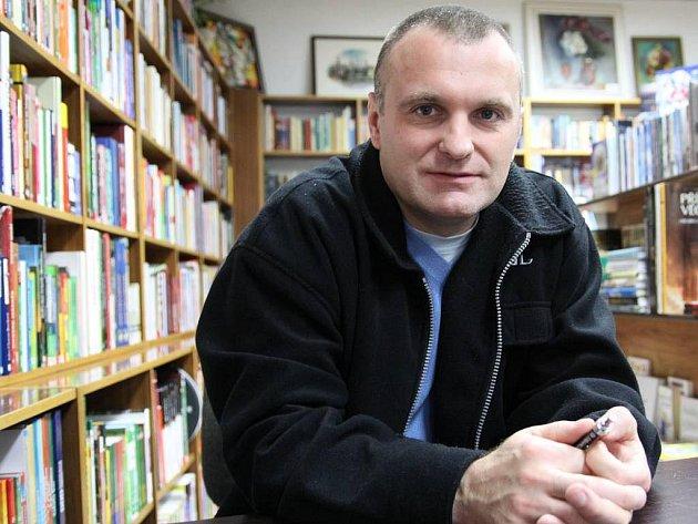 Robert Reichel podepisoval v Teplicích svou knihu