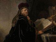 Rembrandt Harmensz. van Rijn: Učenec ve studovně