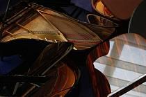 Křídlo světoznámé značky Steinway - ilustrační foto