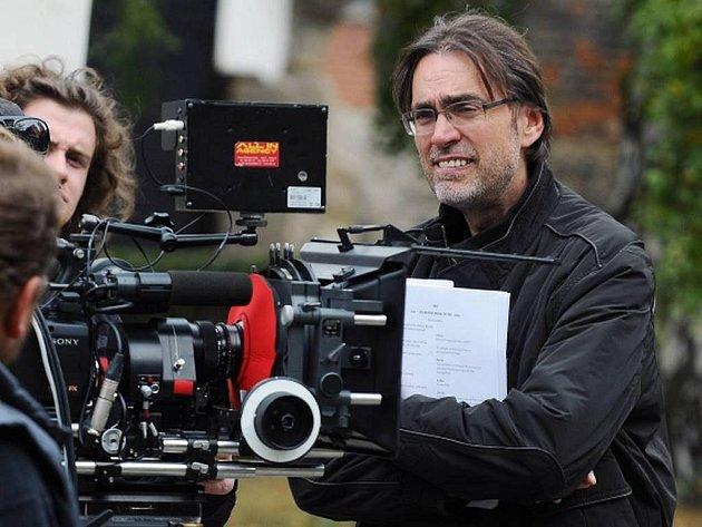 Režisér Milan Cieslar, který právě dokončuje pohádku Dešťová víla