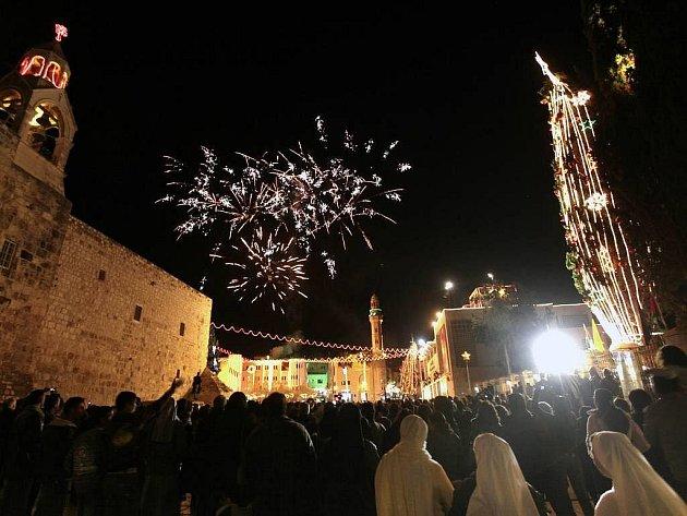 Vánoční výzdoba Betléma