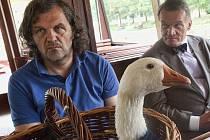 V PRAZE dostal bosenský režisér Emir Kusturica nejen klíč od hlavního města, ale i svatomartinskou husu.