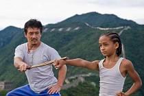 Karate Kid v hlavní roli se synem Willa Smihe, Jadenem Smithem