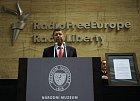 Martin Štěpánek na tiskové konferenci o rádiu Svobodná Evropa