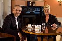 Hostem Ebenovy talk show Na plovárně byla i Ivana Trump