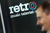 Nová česká hudební televize Retro Music Television zahájila 30. března vysílání za účasti zakladatelů a investorů Pavla Attela, Jiřího Němečka, jehož vidíte na snímku, a Lenky Tesařové.