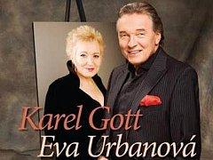 Karel Gott a Eva Urbanová se spolu opět chystají na turné