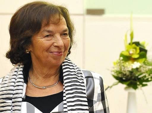 Manželka prezidenta Livia Klausová zavítala 18. května na mezinárodní divadelní festival Setkání 2010 Stretnutie ve Zlíně.