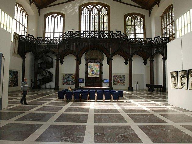 Alšova galerie, interiér, ilustrační foto