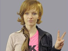 Aňa Geislerová ve filmu Občanský průkaz, promo foto