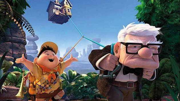 Snímek z animovaného filmu Up studia Pixar